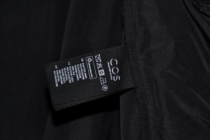 Куртка бомбер cos silk bomber - Фото 6