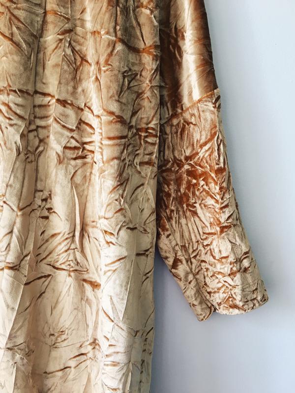 Платье бархатное с жемчужным блеском zara размер м - Фото 5