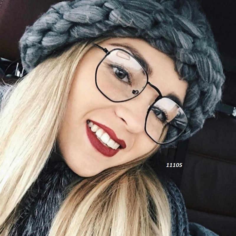 Имиджевые очки в черной оправе к.11105 - Фото 5
