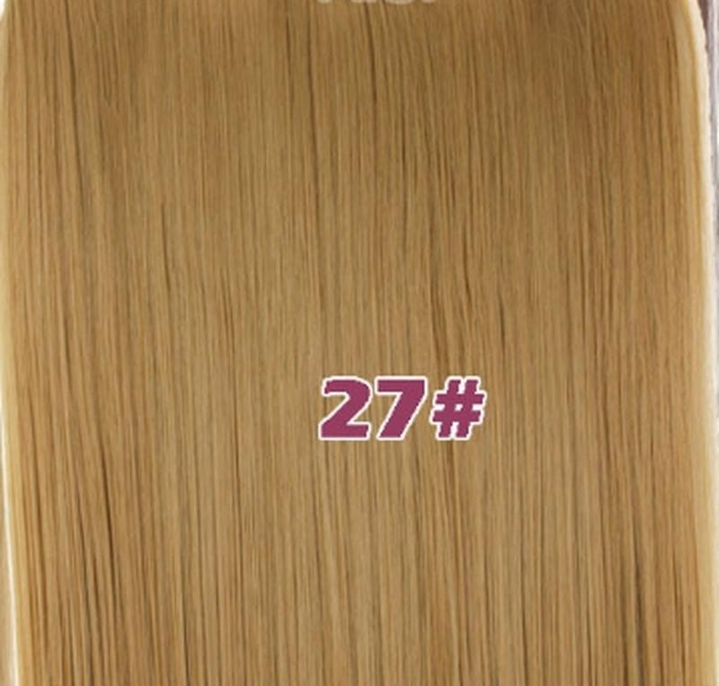 Трессы волосы на заколках лента с клипсами русый золотистый 5к...