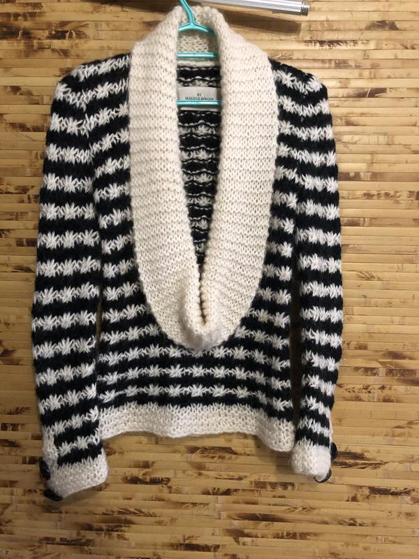 Брендовая кофта свитер пуловер by malene birger мохер