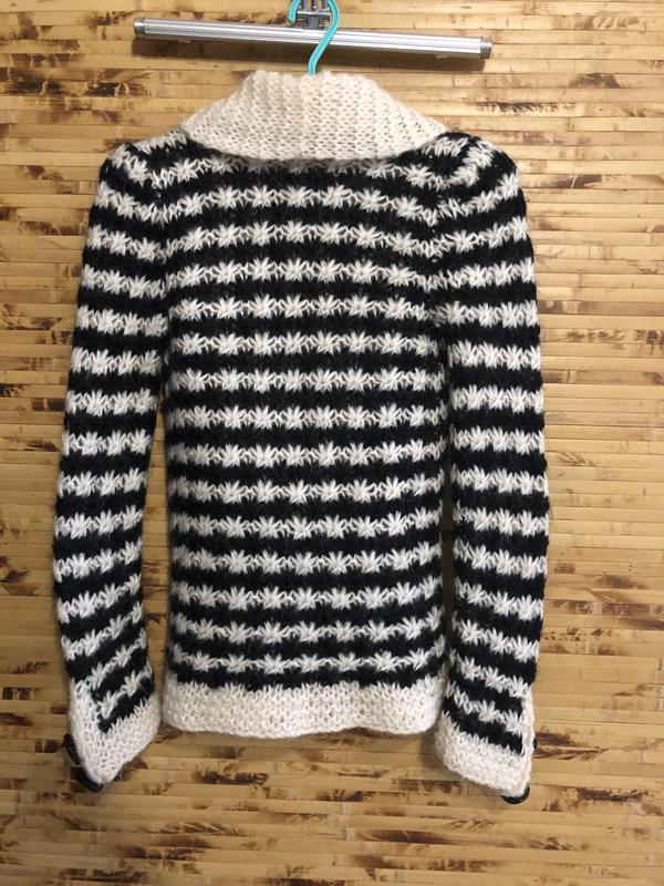 Брендовая кофта свитер пуловер by malene birger мохер - Фото 2