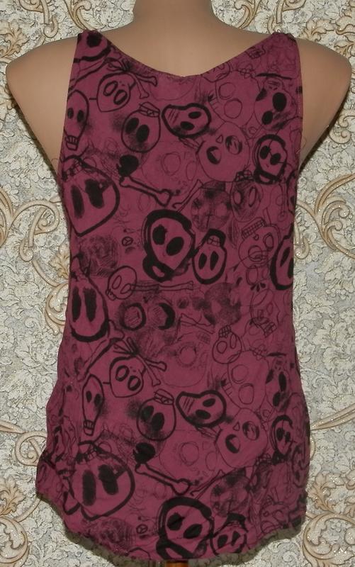 Блузка майка divided 10р - Фото 2