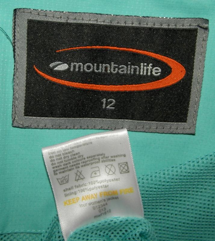 Штормовая куртка mountainlife 12р - Фото 4
