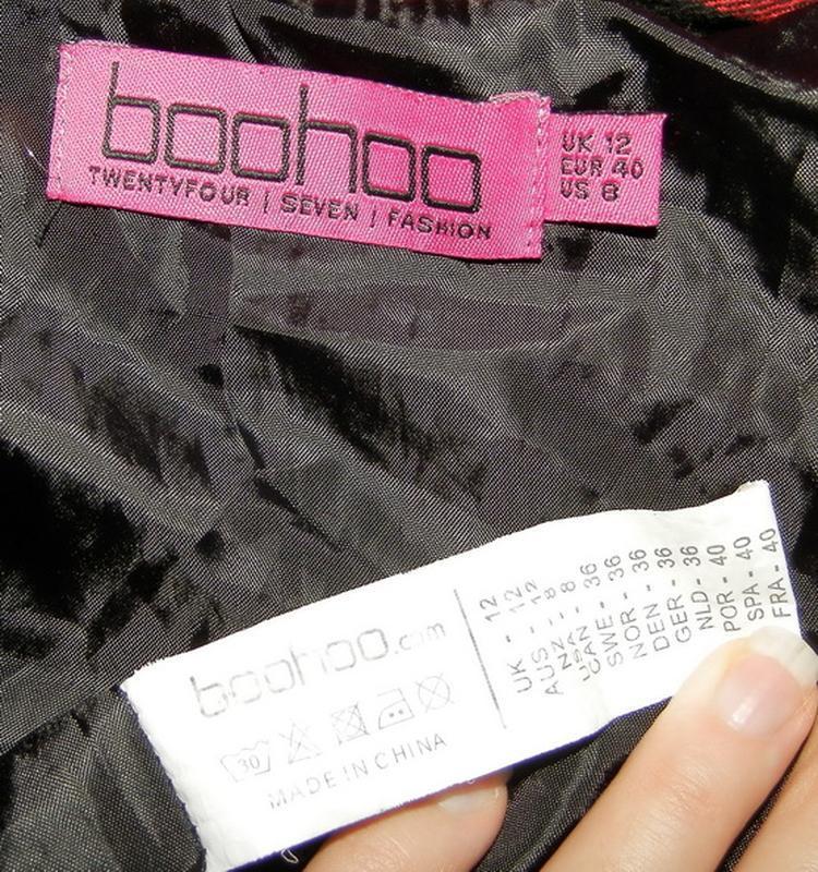 Куртка-ветровка boohoo 12р - Фото 5
