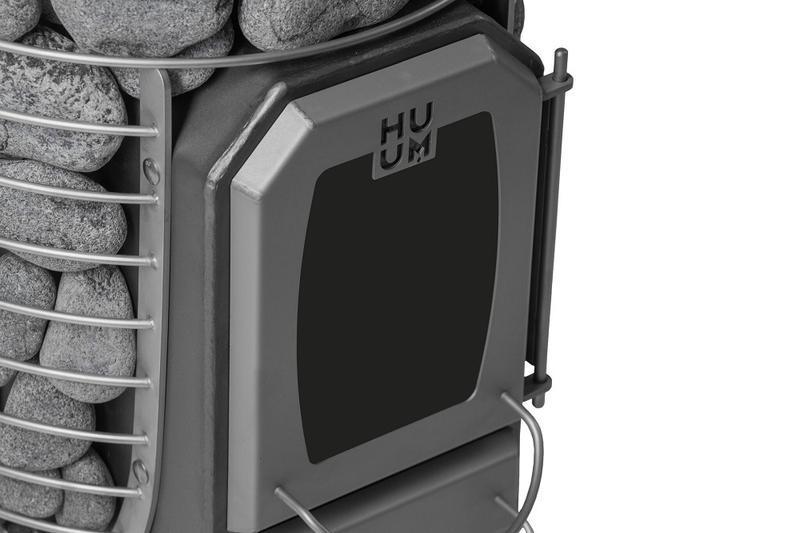 Дровяная каменка для бани и сауны HUUM HIVE WOOD 13 без выноса - Фото 2
