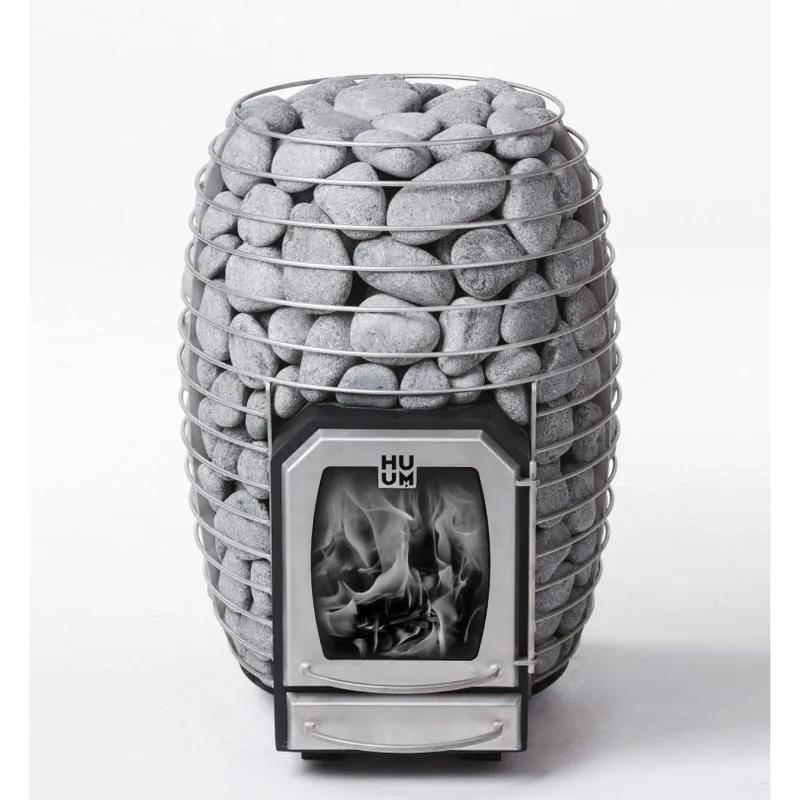 Дровяная каменка для бани и сауны HUUM HIVE WOOD 13 без выноса - Фото 6