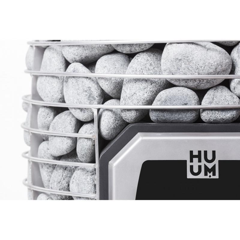 Дровяная каменка для бани и сауны HUUM HIVE WOOD 13 без выноса - Фото 4