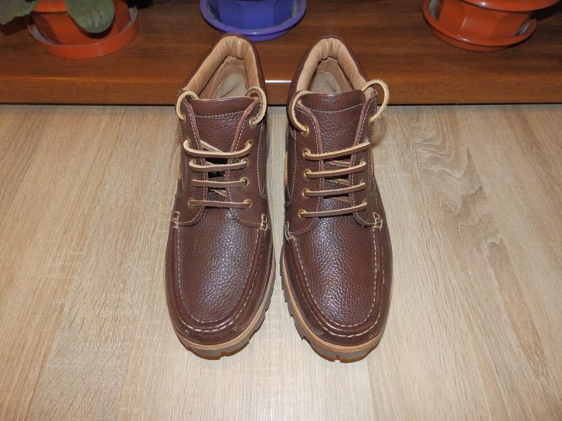Ботинки топсайдеры boots samuel windsor - Фото 2