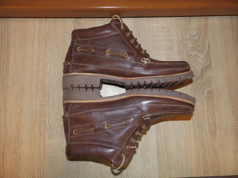 Ботинки топсайдеры boots samuel windsor - Фото 3