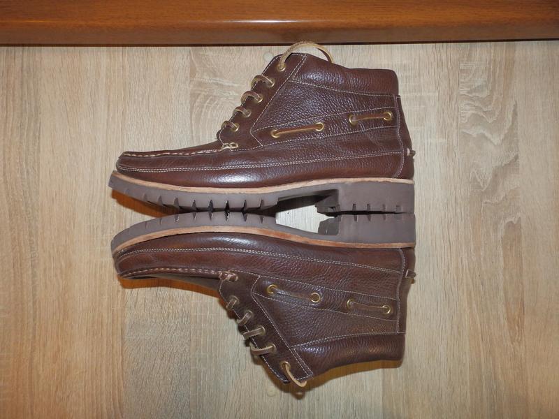 Ботинки топсайдеры boots samuel windsor - Фото 4