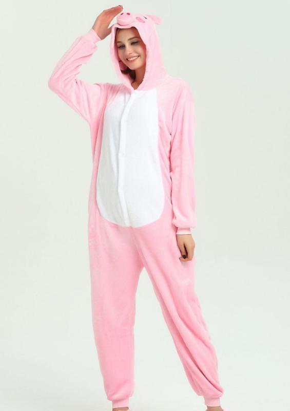 Пижама кигуруми хрюша свинья поросенок