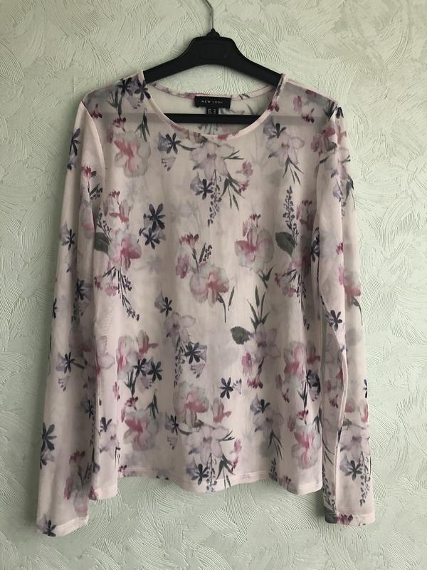 Блуза сетка