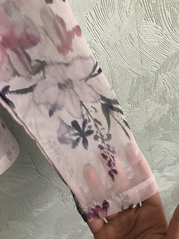 Блуза сетка - Фото 4