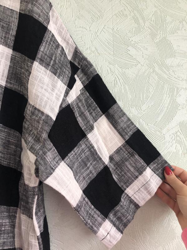 Рубашка лен - Фото 7