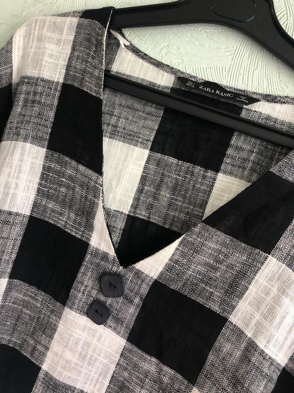 Рубашка лен - Фото 8