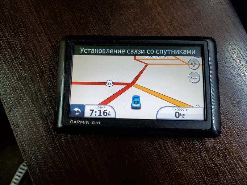 GPS-навигатор Garmin Nuvi 1490 из США.Рабочий !Карта Украины !!! - Фото 3