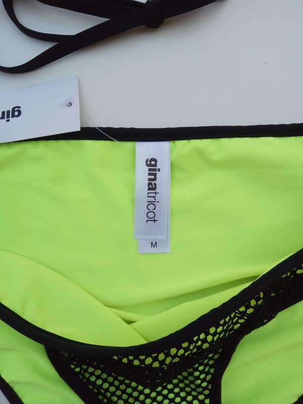 Новый яркий неоновый купальник gina tricot - Фото 5