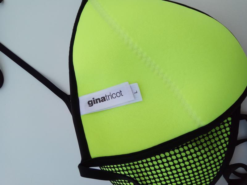 Новый яркий неоновый купальник gina tricot - Фото 6