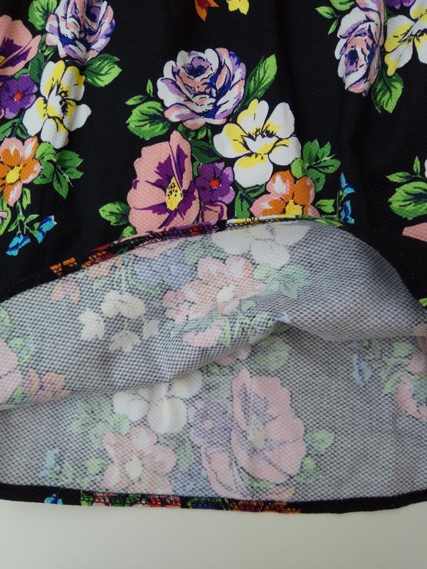 Сарафан с цветочный принт - Фото 6
