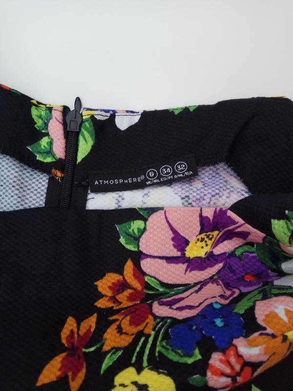 Сарафан с цветочный принт - Фото 7