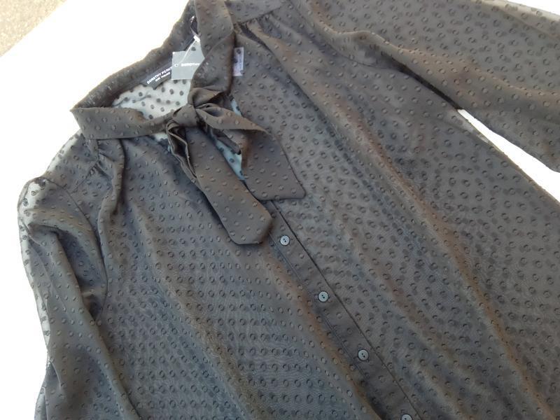 Шикарная романтическая блуза. размер 16 - Фото 3