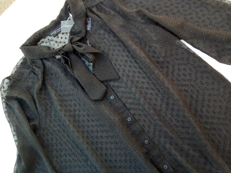 Шикарная романтическая блуза. размер 16 - Фото 5