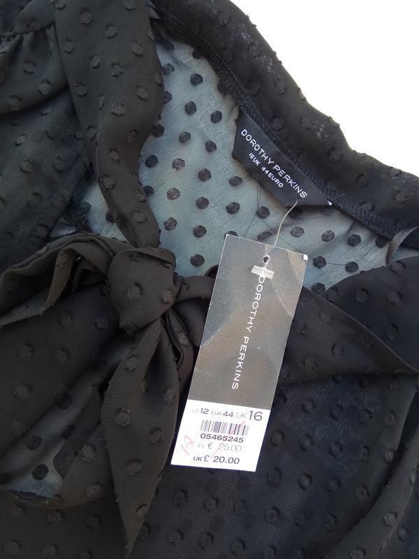 Шикарная романтическая блуза. размер 16 - Фото 6
