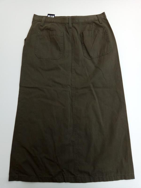 Юбка миди, размер 14 - Фото 3