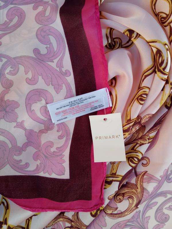 Качественный винтажный новый платок от primark - Фото 5