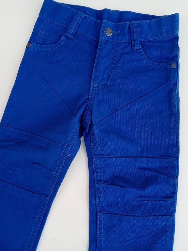 Синие джинсы lupilu на рост 86 см 12-18 мес - Фото 2