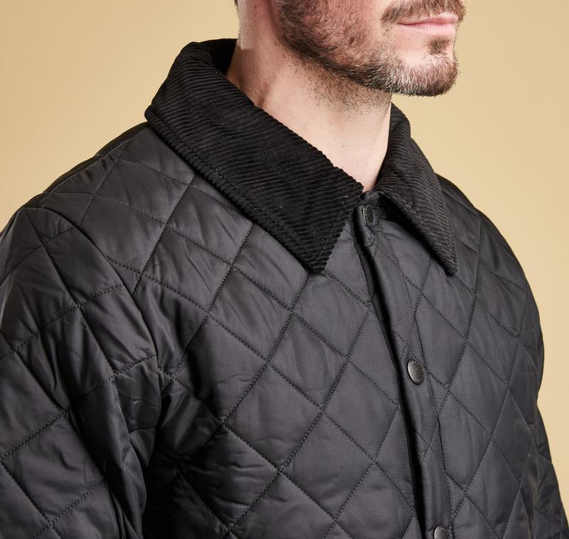 Barbour liddesdale куртка стеганка - Фото 4