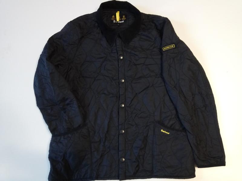 Barbour liddesdale куртка стеганка - Фото 5