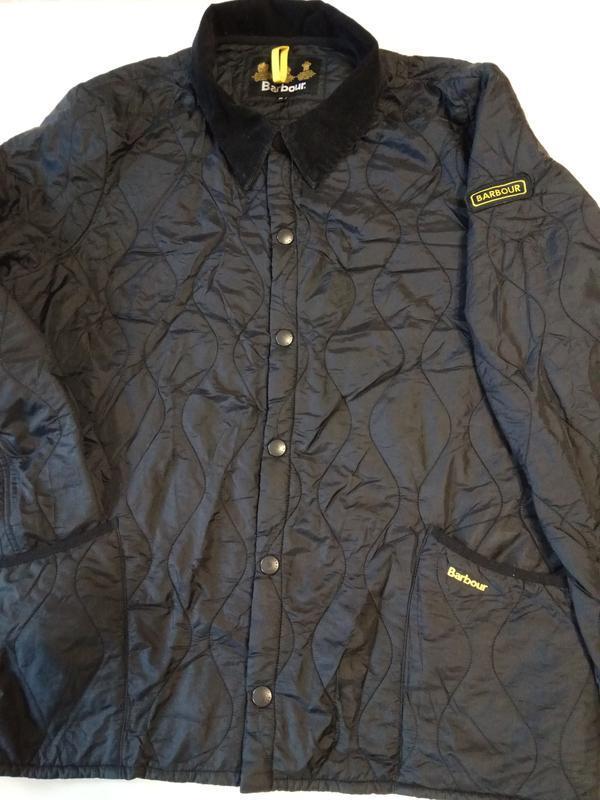 Barbour liddesdale куртка стеганка - Фото 6