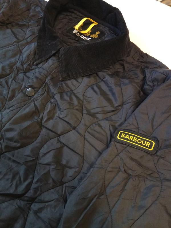 Barbour liddesdale куртка стеганка - Фото 7