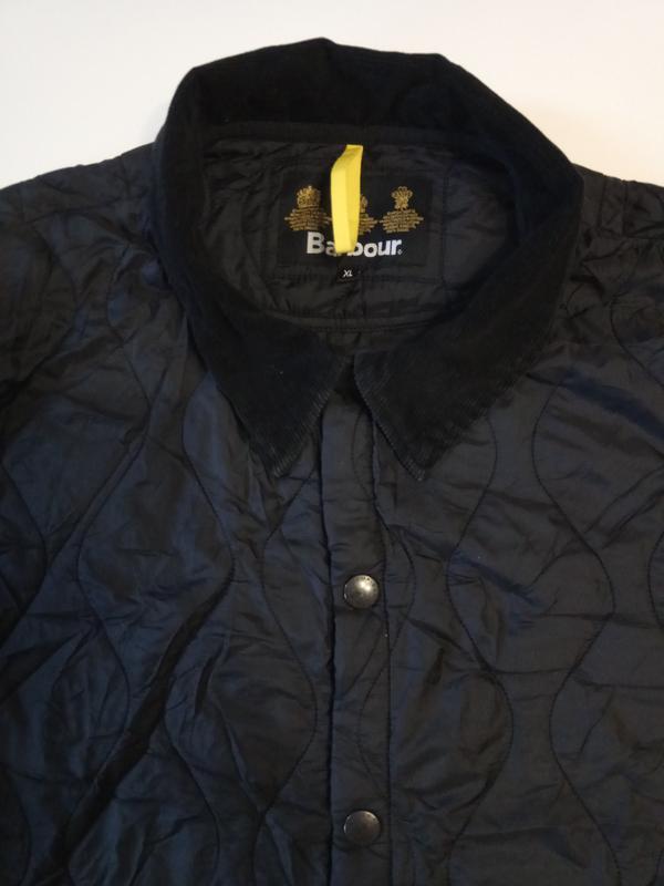 Barbour liddesdale куртка стеганка - Фото 8
