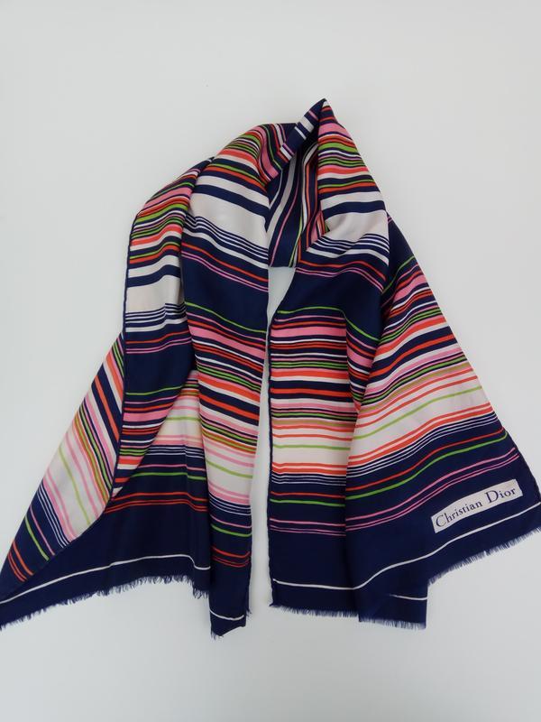Шикарный фирменный шарф christian dior