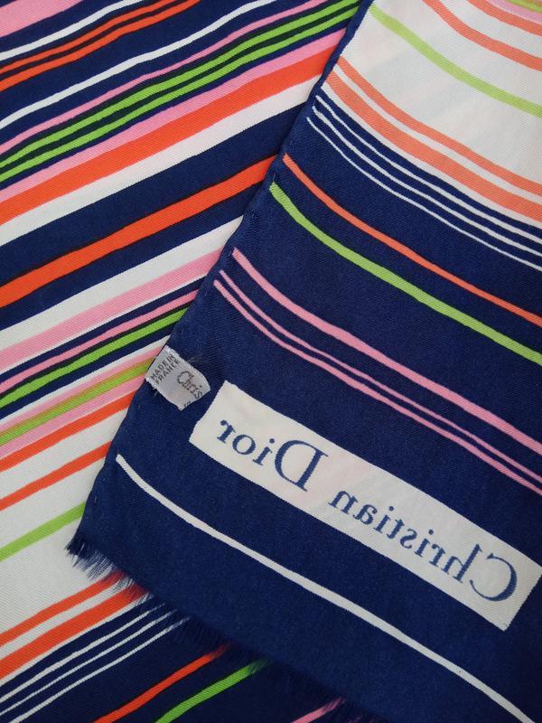 Шикарный фирменный шарф christian dior - Фото 4