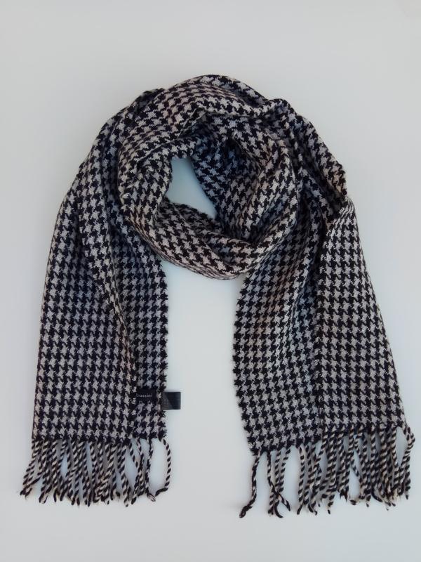 Шерстяной шарф, супер теплый arnaldo bassini