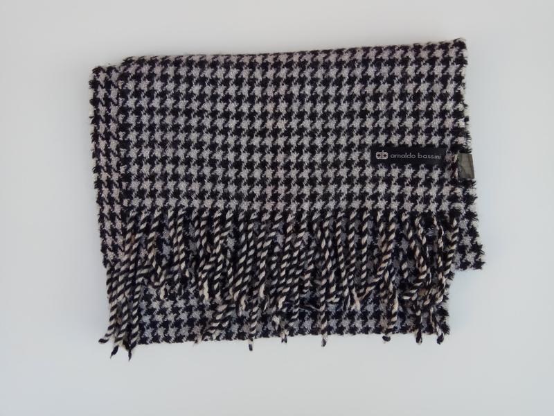 Шерстяной шарф, супер теплый arnaldo bassini - Фото 2