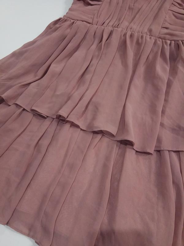 Красивое платье. h&m. размер 8, 12 - Фото 3