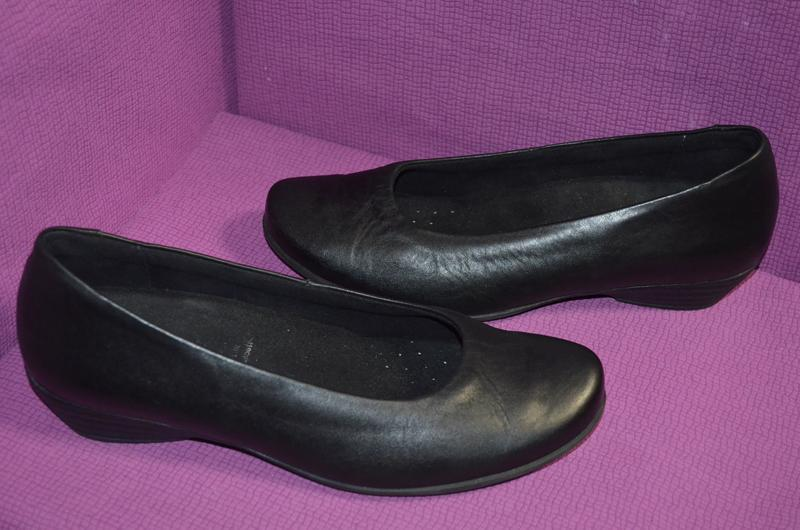 Кожаные туфли vivo