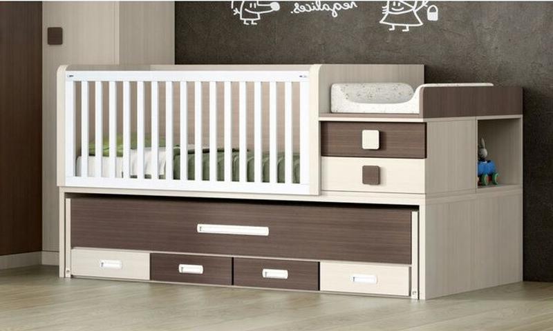 Детская комбо-кровать для новорожденных