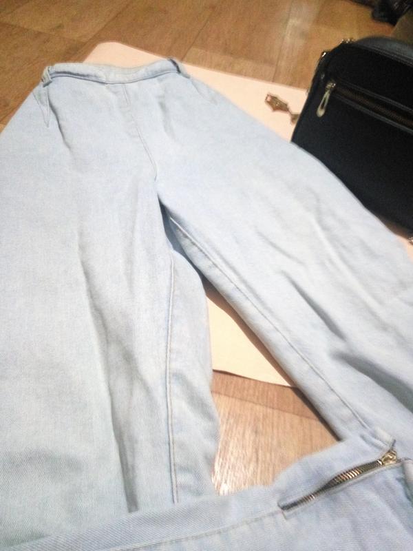 Винтажные джинсы lee gossip бананы - Фото 2
