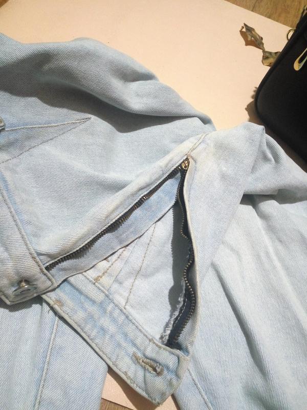 Винтажные джинсы lee gossip бананы - Фото 4