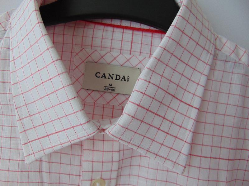 Рубашка в клетку canda c&a - Фото 4
