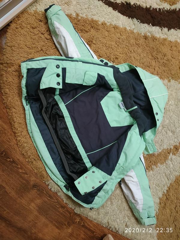 Брендовая спортивная (лыжная) термо- куртка на 5-6 лет (можно ... - Фото 2
