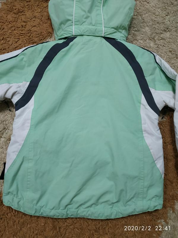 Брендовая спортивная (лыжная) термо- куртка на 5-6 лет (можно ... - Фото 6
