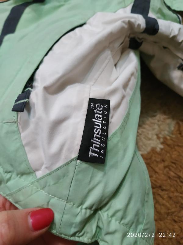 Брендовая спортивная (лыжная) термо- куртка на 5-6 лет (можно ... - Фото 7