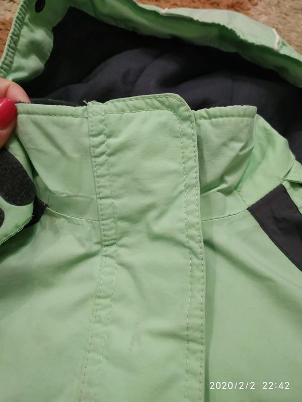 Брендовая спортивная (лыжная) термо- куртка на 5-6 лет (можно ... - Фото 8